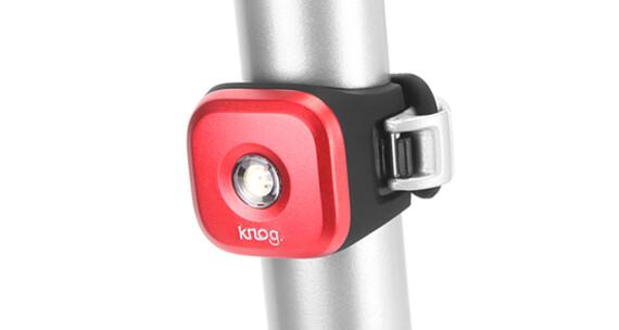 Knog Blinder 1 - Luz a pilas traseras - 1 LED rojo, estándar rojo